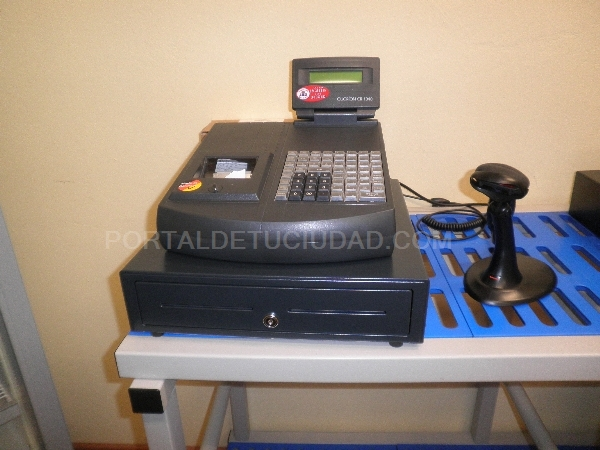 REGISTRADORA CON SCANNER.