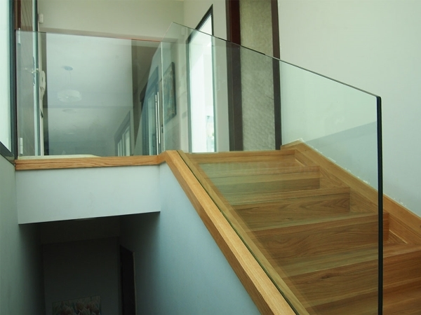 Escaleras de cristal en Cáceres