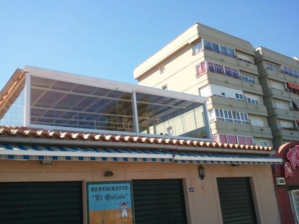 Cerramientos de cristal en Cáceres