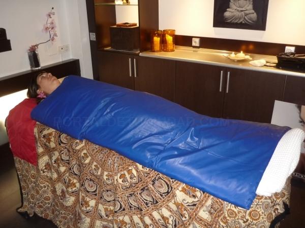 Tratamiento Anticelulítico, Saco Sauna