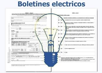 Boletines eléctricos