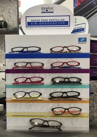 Gafas para pantallas