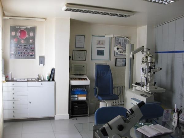 Servicios optométricos