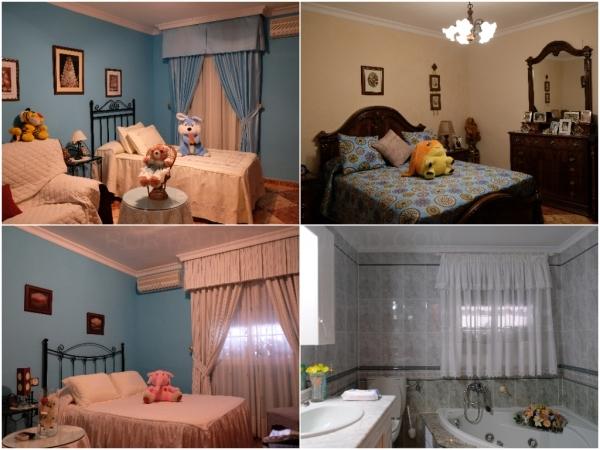 Dormitorios y Baño