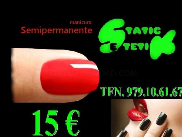 UÑAS SEMIPERNANENTES 15 €