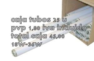 Oferta tubos fluorescentes lamparas bajo consumo