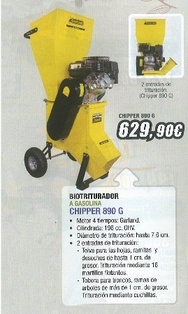 Biotriturador Chiper 890 G