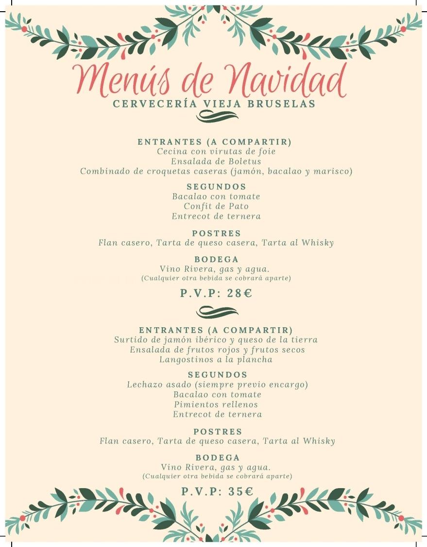 Destacado Menús Navidad Palencia