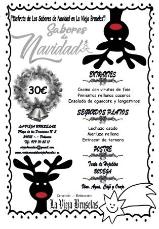 menu navidad palencia