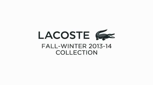 Lacoste,Otoño invierno 2013/2014