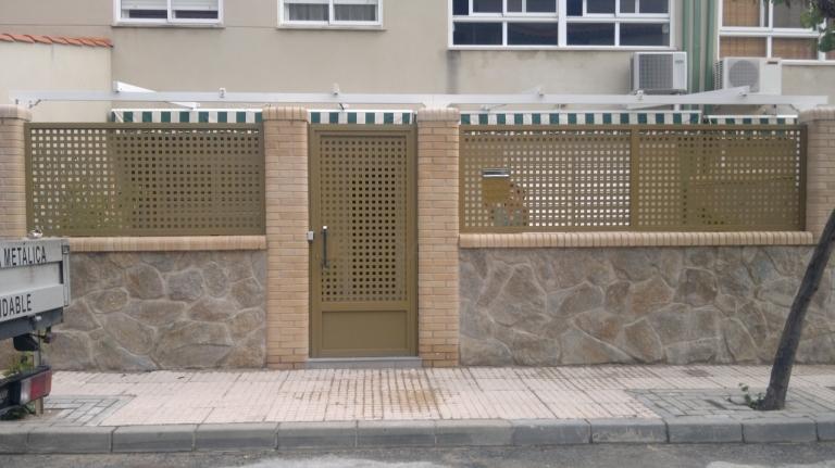 Cerramiento en hierro para vivienda