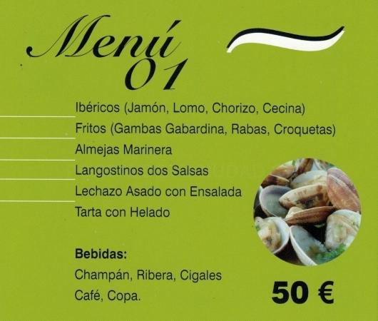 menus especiales grupos palencia