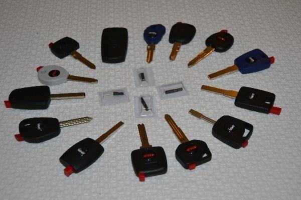 Duplicado de llaves codificadas de coches