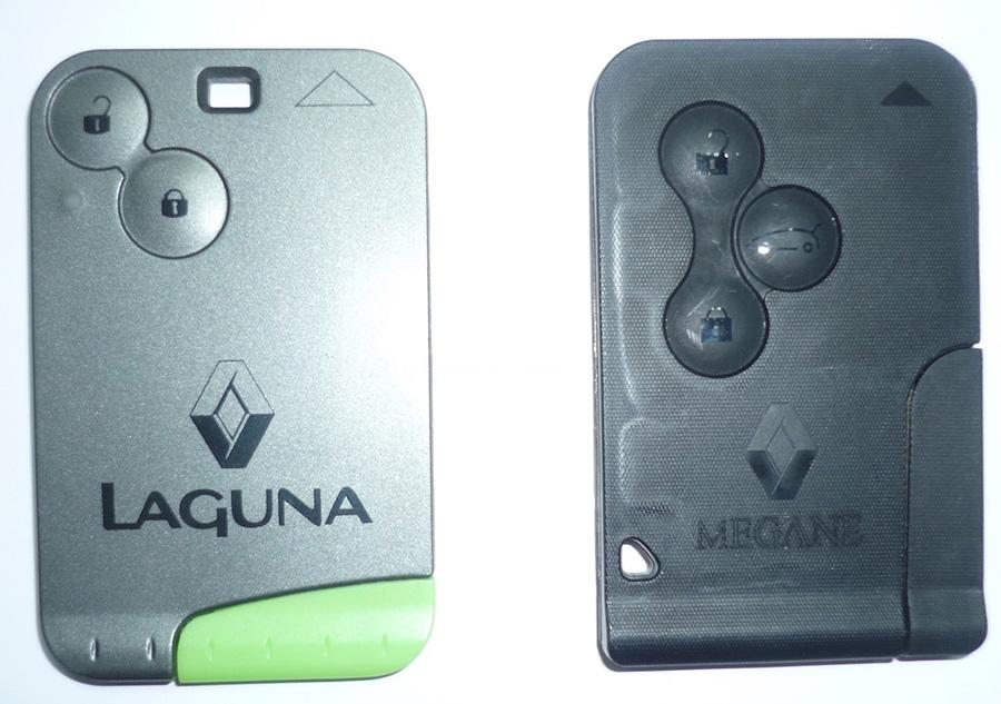 Copia tarjetas Renault Megane, Renault Laguna