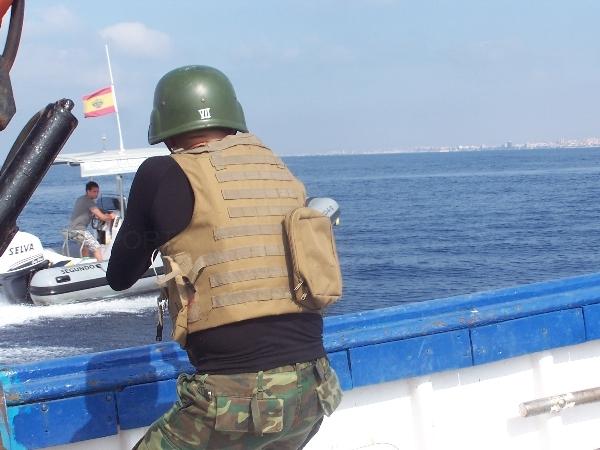 Protección de buques en zonas de alto riesgo
