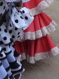 Confección de trajes de Sevillana en Sevilla