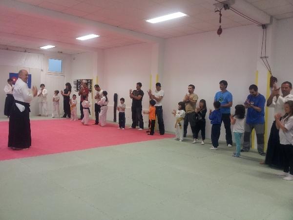 2º Entrenamiento Aikido Infantil con padres