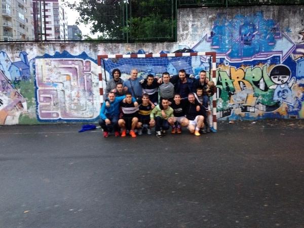 Torneo de Futbol en las fiestas de Larratxo