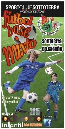Fútbol base mixto Sottoterra+C.P Cacereño