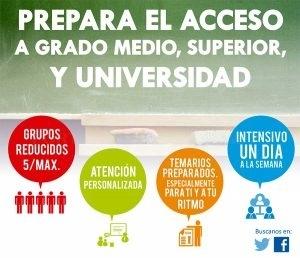 Preparación pruebas libres acceso a F.P. Palencia.