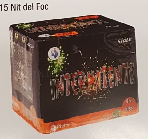 Destacado Bateria Nit del Foc Intermitente