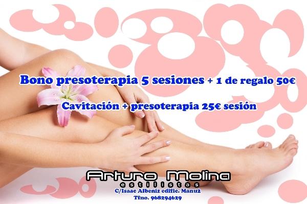 Presoterapia y Cavitación