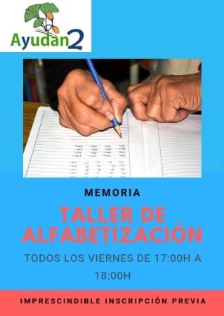TALLER DE ALFABETIZACION