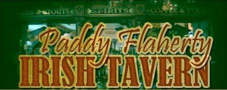 Carta de Cervezas e infusiones Paddy Flaherty