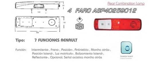 4 FARO ASP40259012