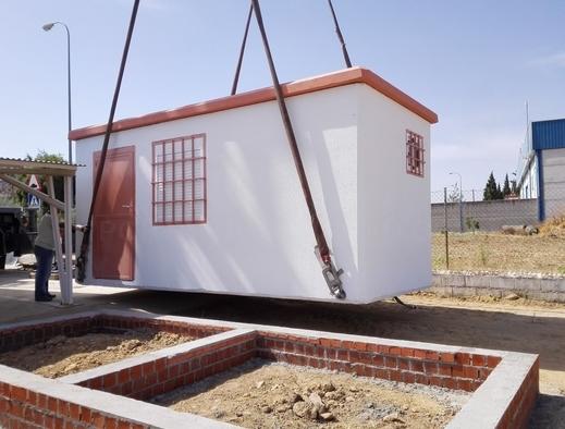 Casetas prefabricadas de hormigón