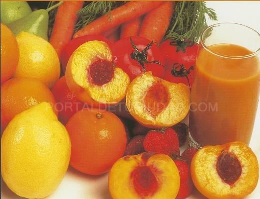 Concentrados de frutas y purés de frutas