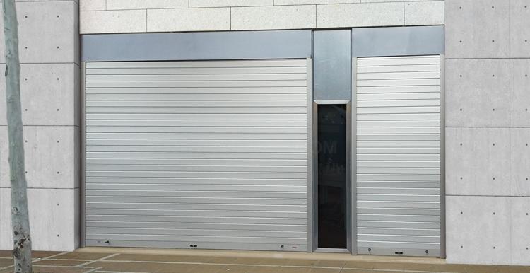 Puertas automáticas de garaje enrollables en Mérida