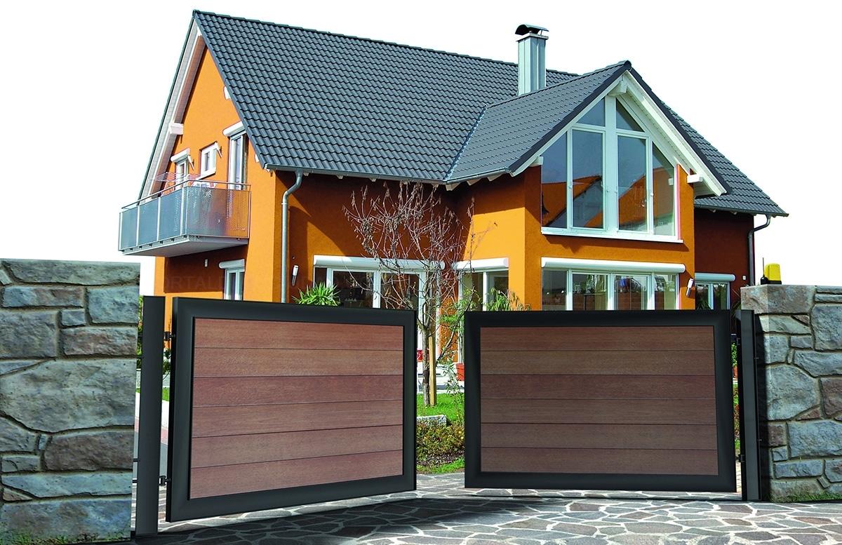 Puertas automáticas de garaje seccionales