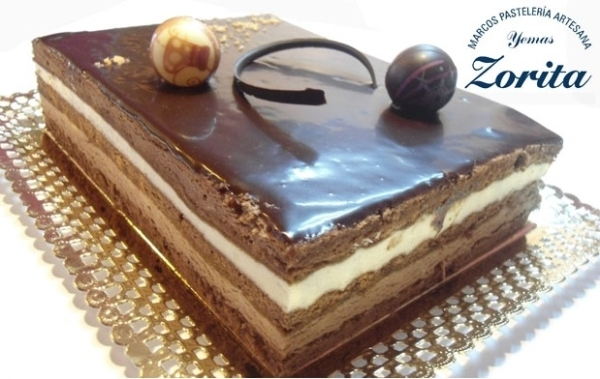 Tarta Pasion 3 chocolates