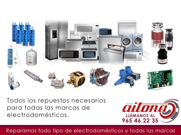 Repuestos Electrodomésticos Gama Blanca Elche