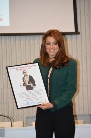 Helena Cosano, Premio Rubén Darío 2014