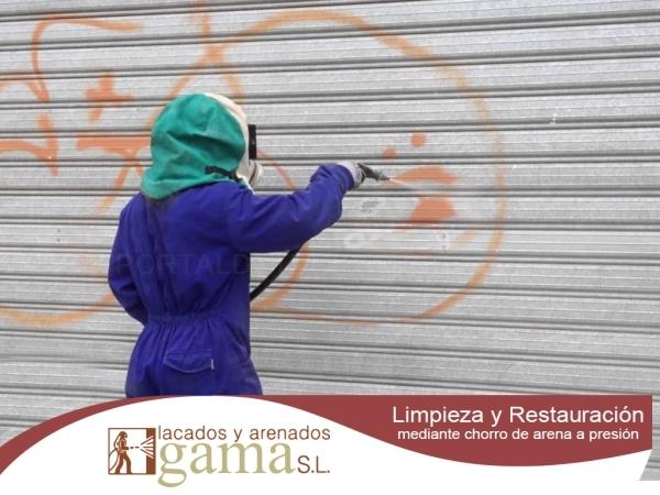 Limpieza de graffitis y monumentos