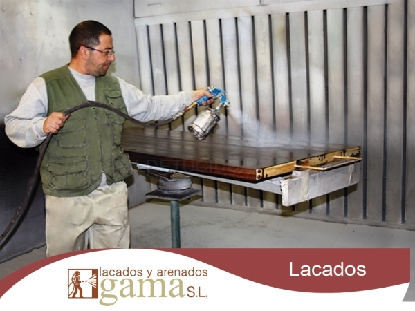 Lacado, restauración de objetos y materiales