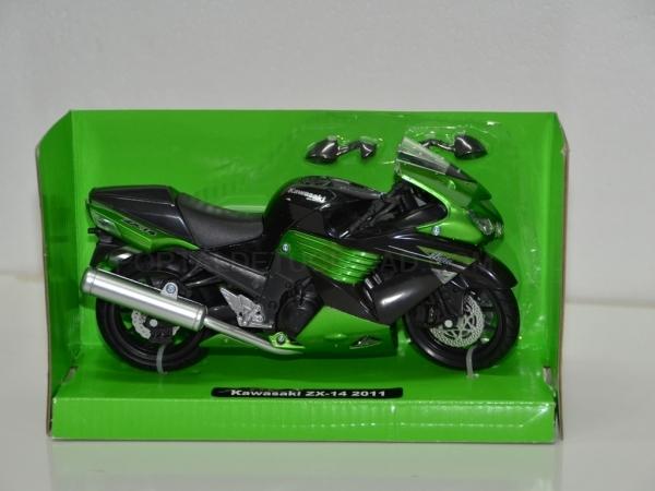 Kawasaki ZX-14 2011 escala 1:12