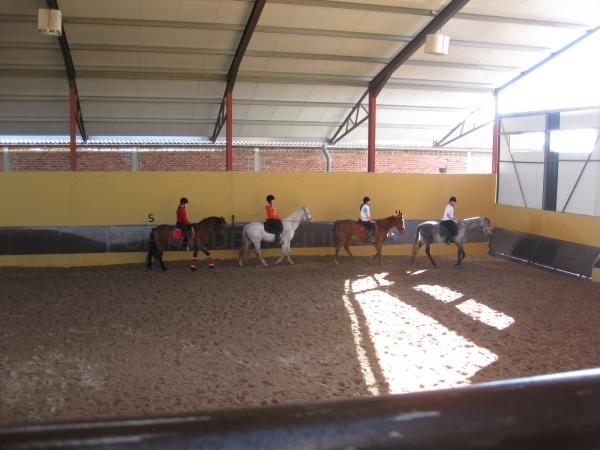 montar a caballo palencia
