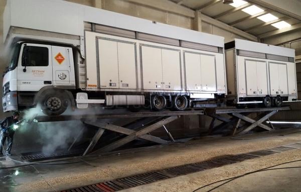 Lavado camiones palencia