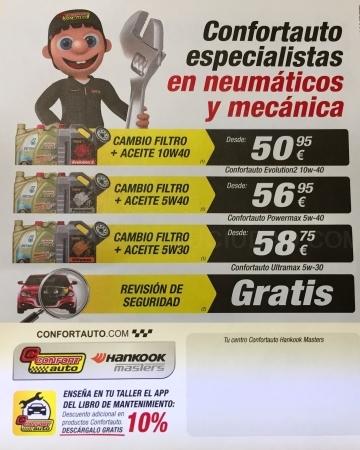 Oferta Oferta Cambio de Aceite en Palencia