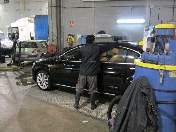 Lavado a mano de vehículos en Palencia