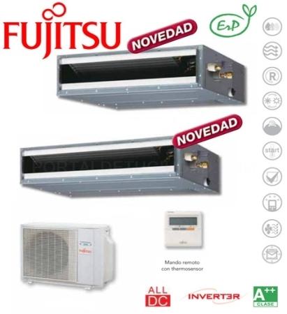 Equipo de Conductos Fujitsu ACY UiA-LL/LM