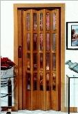 Puertas de interior plegables