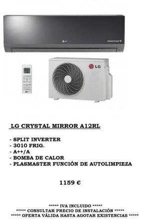 Oferta Climatización LG Mirror