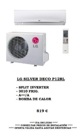 Oferta Climatización LG silver