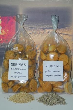galletas de Pipas y sésamo