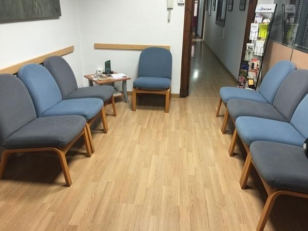 tapizado sillones sala espera