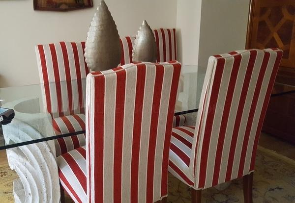 tapizado sillas altas comedor